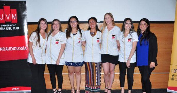 Fonoaudiología UVM cerró el 2018 con Investidura para alumnos de cuarto año