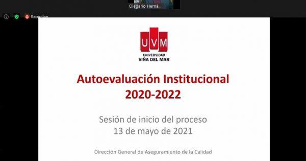 UVM inició proceso de autoevaluación institucional 2022