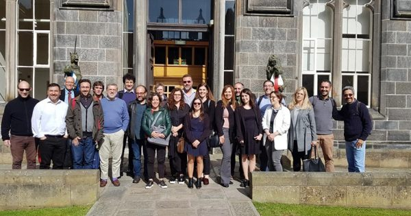 UVM forma parte del Study Visit del Proyecto Erasmus + LATWORK en Escocia