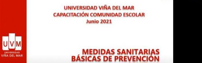Escuela Ciencias de la Salud UVM realizó webinar sobre prevención Covid para apoderados de escolares