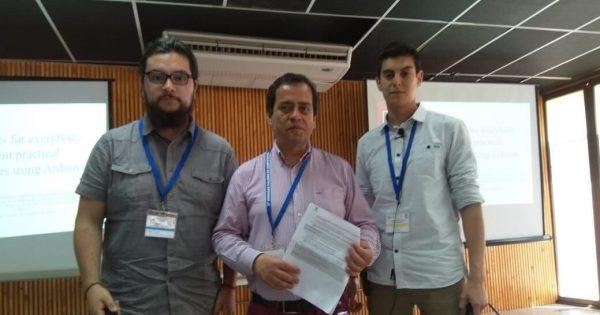 Estudiantes de la Ingeniería Civil Informática UVM participan de XIX Congreso Chileno de TICs para la Educación
