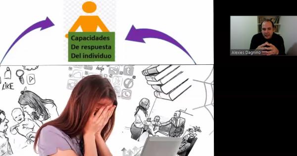Estrés y ansiedad fue tema central de conferencia magístral organizada por la Escuela de Ciencias de la Salud