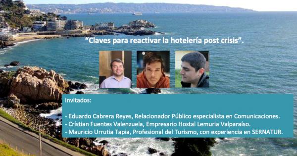 Académico Relaciones Públicas participa en clase magistral sobre turismo y crisis sanitaria