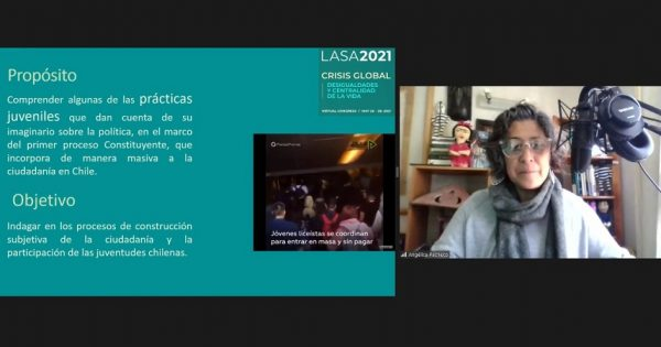 Académica UVM expuso en panel de Congreso LASA 2021