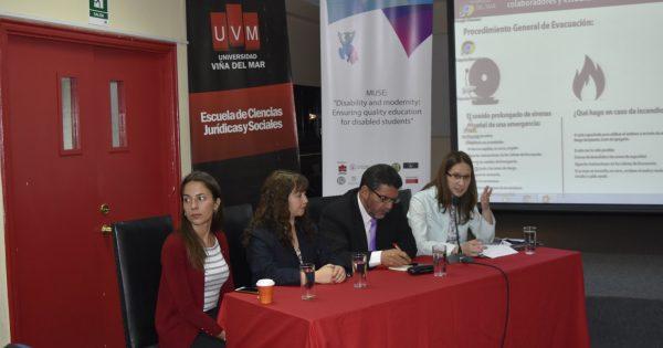 Seminario abordó realidad sobre inclusión laboral y discapacidad