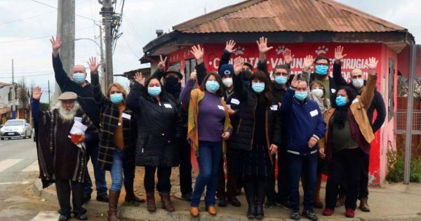 Carrera de Trabajo Social UVM realizó jornada con líderes locales de Forestal