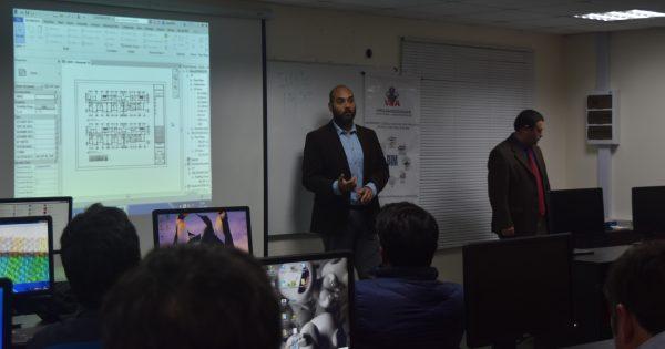 Workshop expone Metodología BIM para titulados de Ingeniera en Construcción