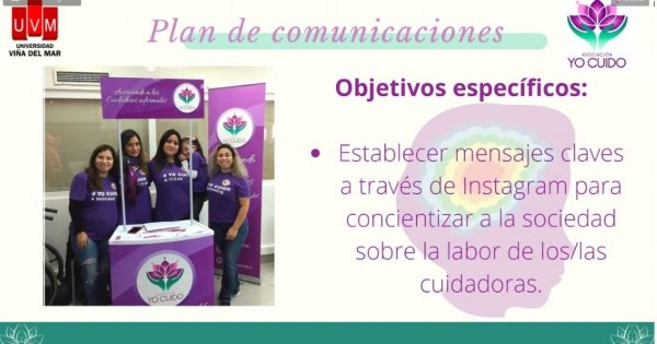 Carrera de Relaciones Públicas UVM culmina iniciativa con Asociación Yo Cuido