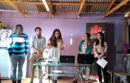 UVM desarrolla charla de promoción de salud a migrantes