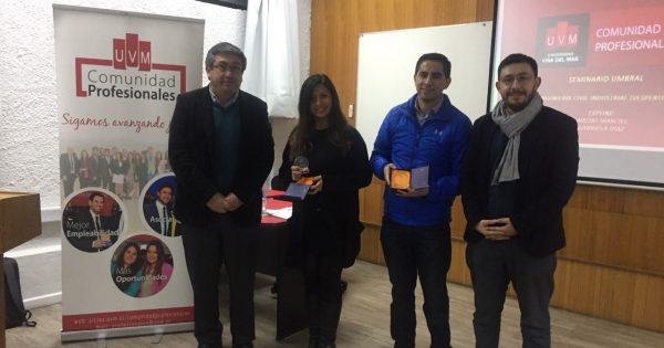 Estudiantes Vespertinos de la Carrera Ingeniería Civil Industrial participan en Seminario Umbral