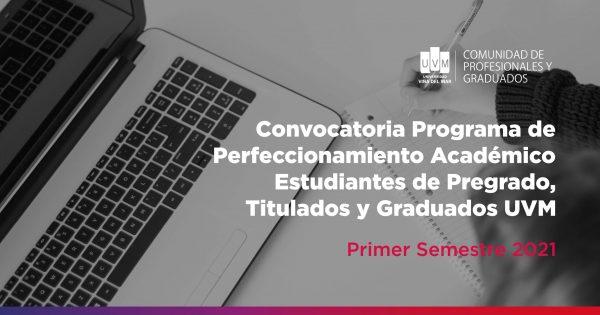 UVM lanza Programas de Perfeccionamiento para primer semestre