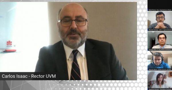 UVM organizó exitoso encuentro sobre ordenamiento territorial