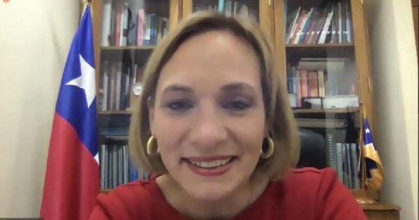 Senadora Carolina Goic participó en nuevo encuentro de Plan Líderes UVM 2021