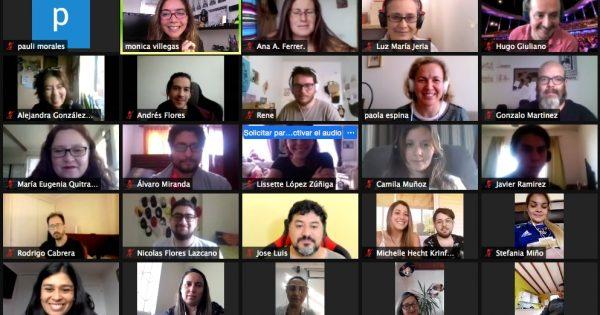 Carrera de Psicología cierra su año académico con emotivo encuentro online