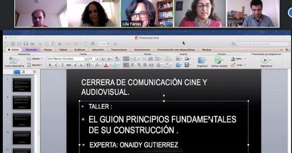 Carrera Cine UVM realiza exitoso taller con reconocida guionista internacional