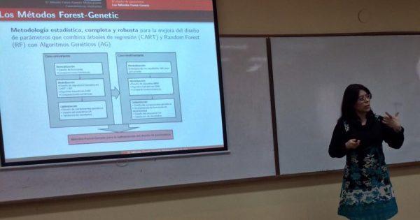 UVM participó en el XLVII Coloquio Argentino de Estadística en Tucumán