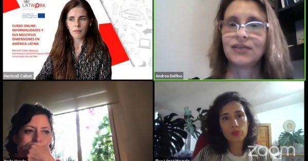 Proyecto Erasmus+ LATWORK realiza conferencia sobre género y raza en el marco de la informalidad laboral