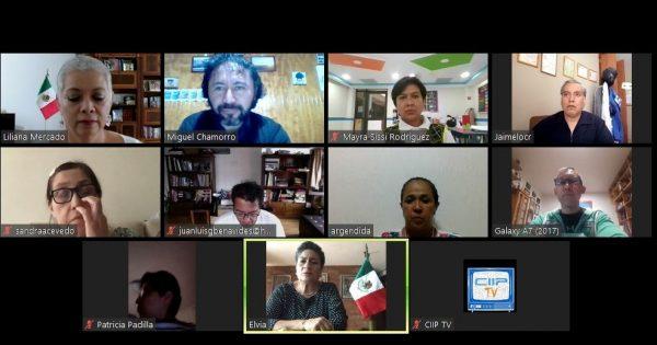 Académico de la UVM sostiene encuentro virtual con profesionales de la salud de México