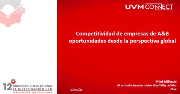 Docente de Administración de Negocios Turísticos y Hoteleros UVM expone en Congreso Internacional