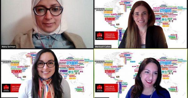 Centro de Español UVM realizó conversatorio sobre interculturalidad en ELE