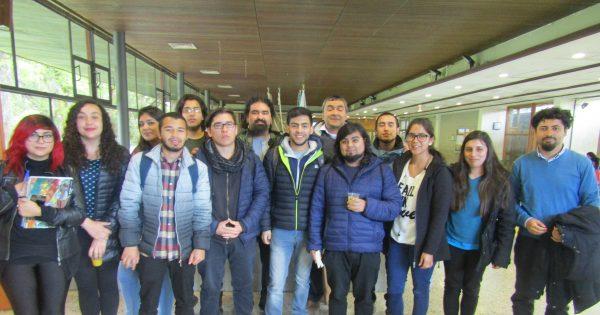 Estudiantes UVM en XXIIª Jornadas de Historia en Valdivia