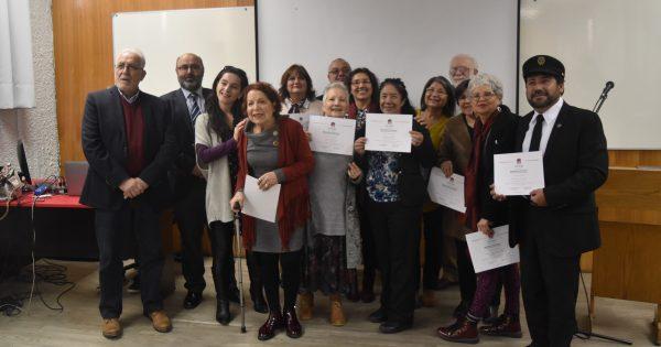 UDAM realizó ceremonia de entrega de Diplomados en Literatura