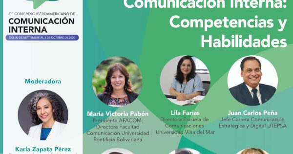 Directora Escuela de Comunicaciones participará de 5to Congreso Iberoamericano de Comunicación Interna