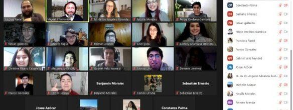 Dirigentes Colegio de Periodistas regional sostienen encuentro con estudiantes de Periodismo UVM