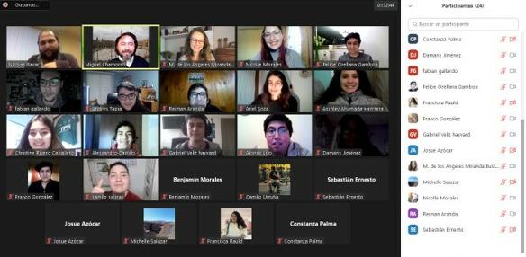 Colegio de Periodistas regional sostiene encuentro con estudiantes de Periodismo UVM