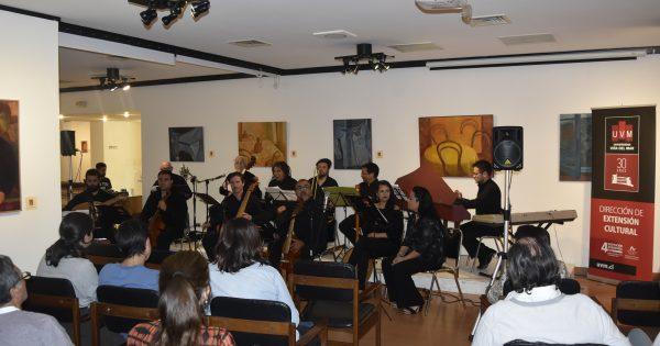 Cantoría Española se presenta en Corporación Cultural de Viña del Mar
