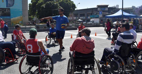 UVM participó en intervención de deporte adaptado