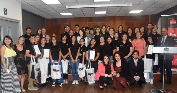 Dos estudiantes del Programa Propedéutico UVM obtienen máximo puntaje ranking 2018