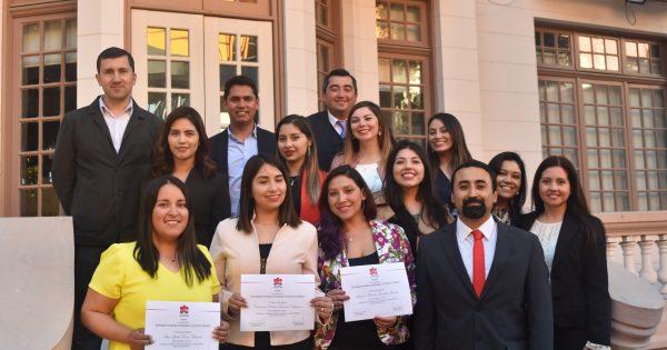Ceremonia de Clausura del Diplomado de Higiene Ocupacional y Salud en el Trabajo