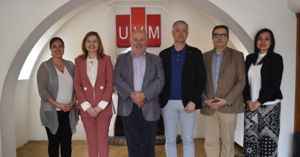 UVM recibe visita de delegación de la Universitat de Lleida Catalunya