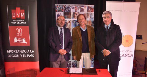UVM se une a municipio y corporación de Casablanca