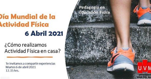 Carrera de Pedagogía en Educación Física UVM presente en Día Mundial de la Actividad Física