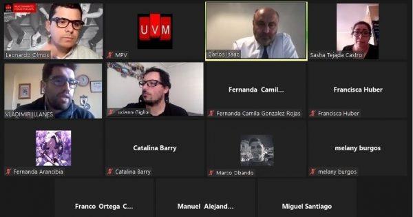 Rector Carlos Isaac participó en el cierre del ciclo «Diálogos con»
