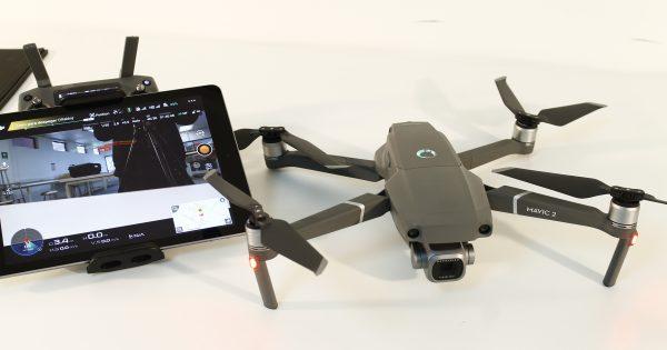 Nuevo Drone para el laboratorio de la Escuela de Arquitectura y Diseño