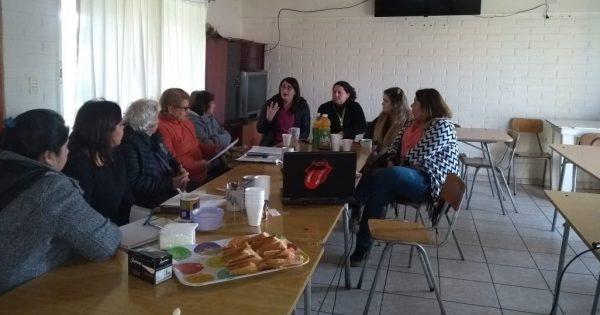 Trabajo Social realiza inducción de práctica en comuna de Viña del Mar