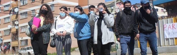 Estudiantes de Periodismo y Relaciones Públicas desarrollan primera intervención en Rodelillo