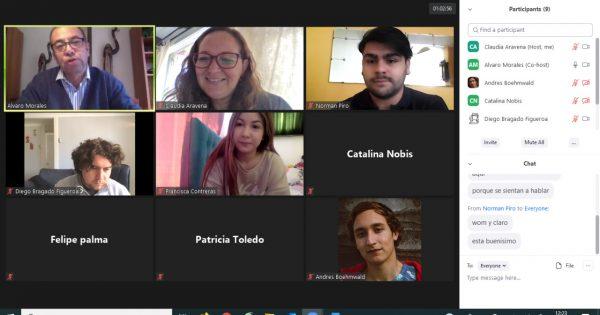 Estudiantes de Relaciones Públicas UVM participan en taller de marketing digital