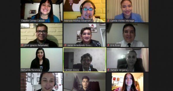 Estudiantes de Relaciones Públicas vespertino asesoran a Federación Mipyme Valparaíso