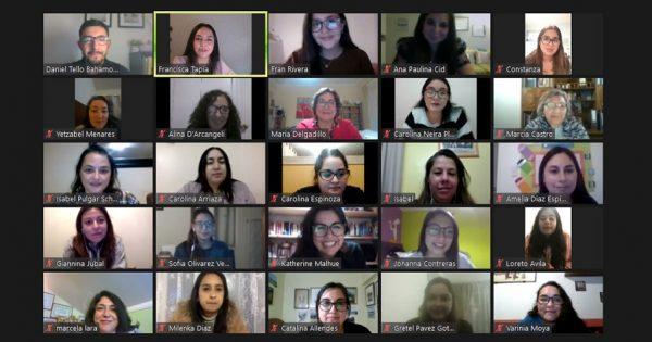 Educación Parvularia y Comunidad de Profesionales y Graduados UVM realizaron encuentro con tituladas