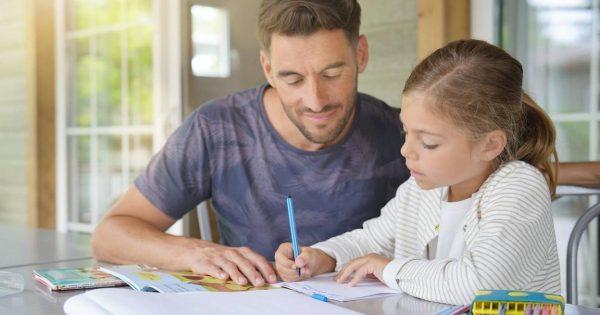 ¿Cómo trabajar y estudiar con los niños en casa?