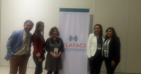 Académicos Escuela de Comunicaciones exponen investigaciones en FELAFACS