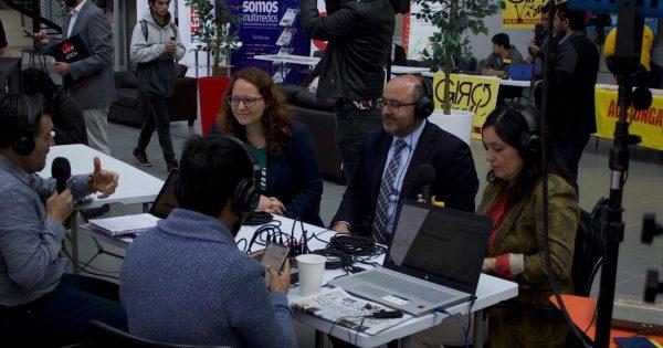 Primera Feria de las Comunicaciones de la Región: Aprender de comunicación, comunicando