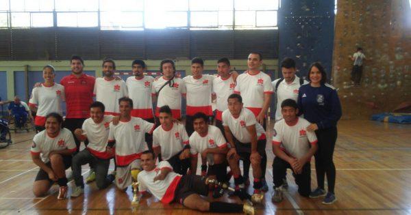UVM se queda con el tercer lugar en Torneo de Fútbol 7 Paralímpico