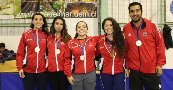 UVM campeón en Tenis de Mesa damas