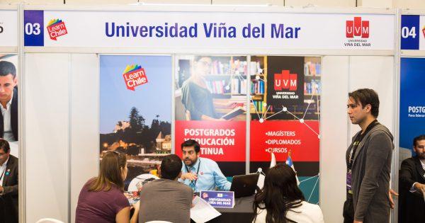 UVM participó en Expo Postgrados y Educación Continua Learn Chile