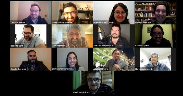 Empleadores de la carrera de Periodismo conversaron sobre el perfil del profesional UVM